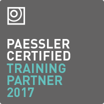 "Logo ""Paessler Certified Training Partner 2017"""